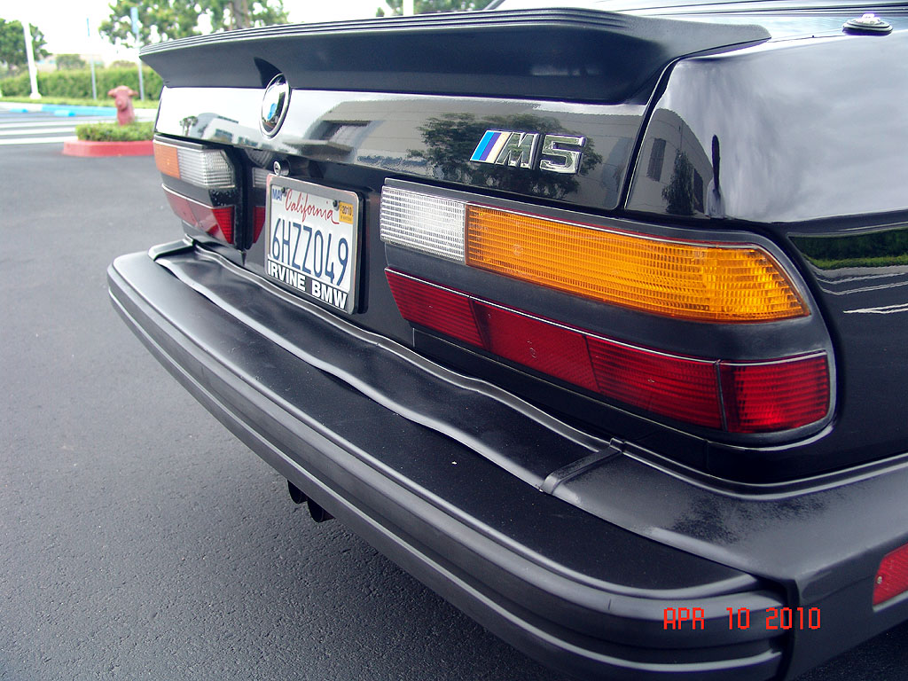1988 Bmw Us M5 3 5 256hp