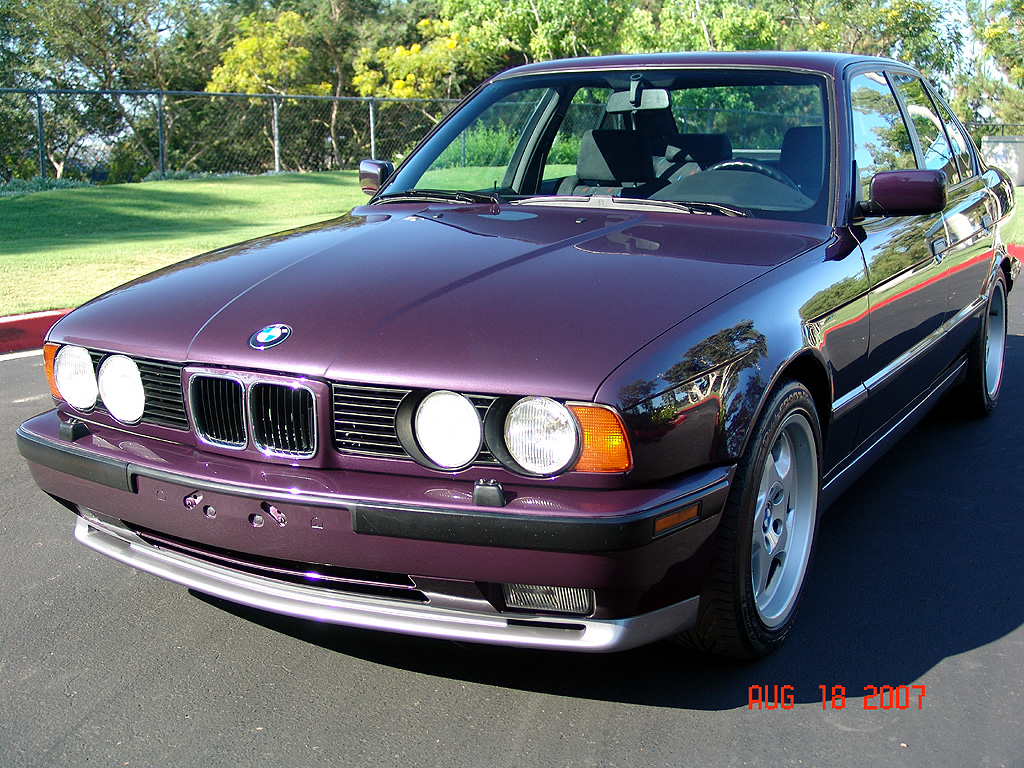 Fs 1993 Euro M5 3 8 Daytona Violet With Epa Dot Bmw M5