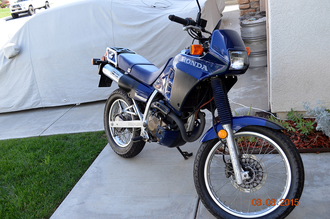 This Is A Well Preserved Original California Like NEW Condition Honda NX 250  Dual Sport Water Cooled Enduro Motor Bike With Only 3800 Miles Since New,  ...