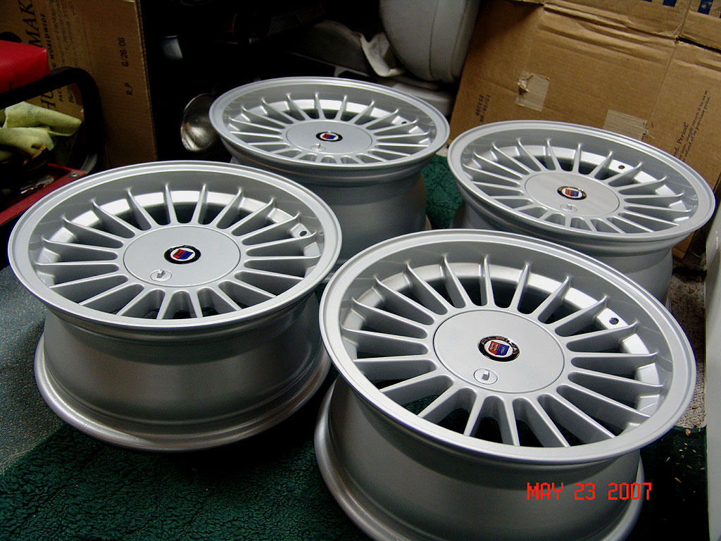 VWVortexcom Alpina Wheels On Mark - Bmw alpina rims for sale