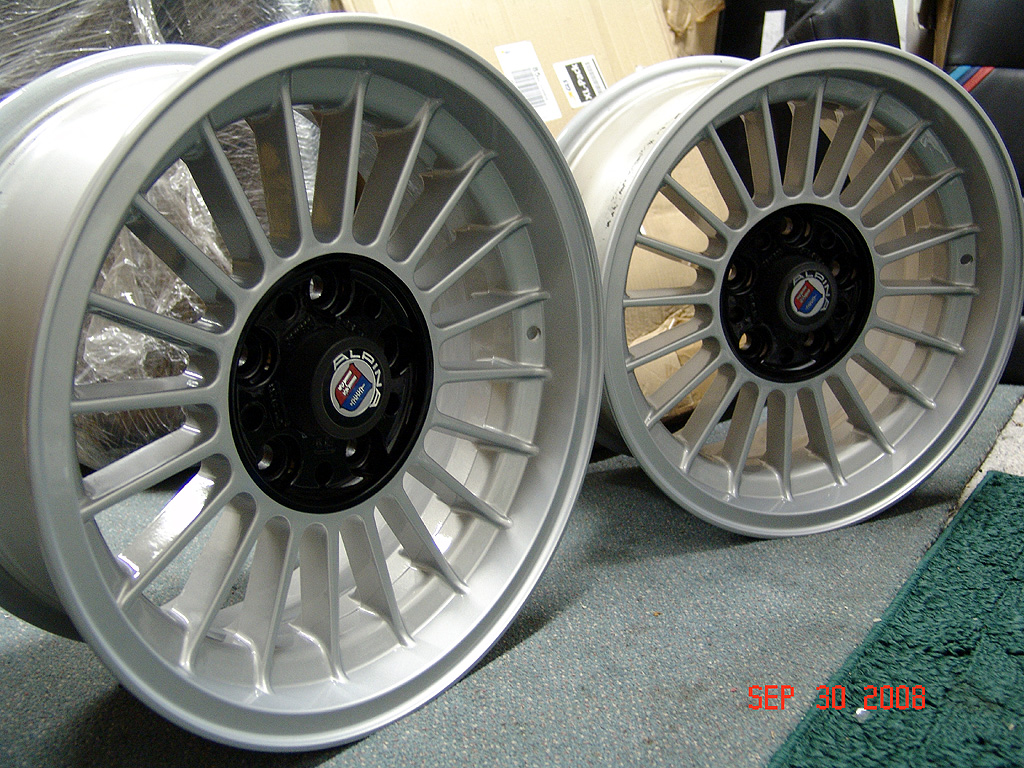 E Staggered Alpina Wheels - Bmw alpina rims for sale