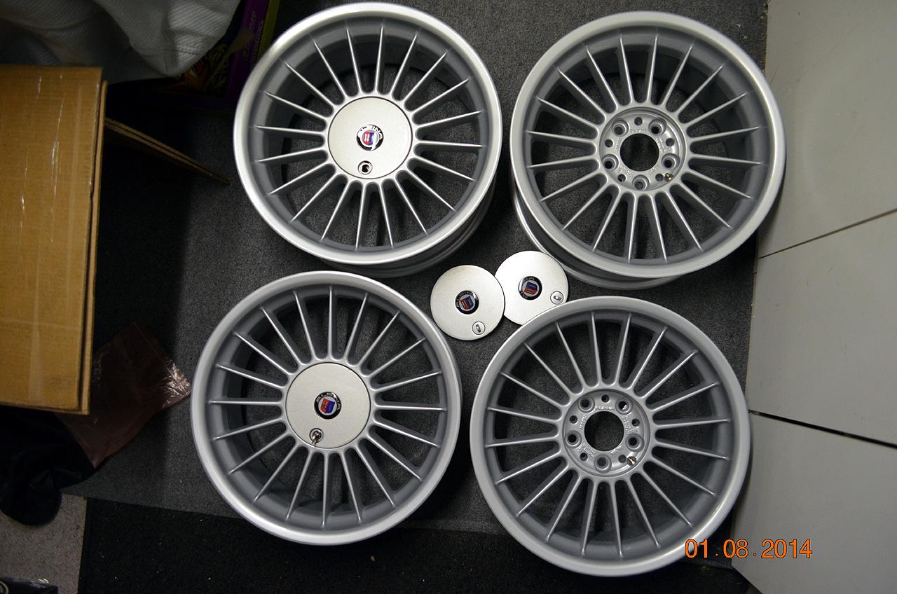 E39 Alpina 18 Staggered Wheels