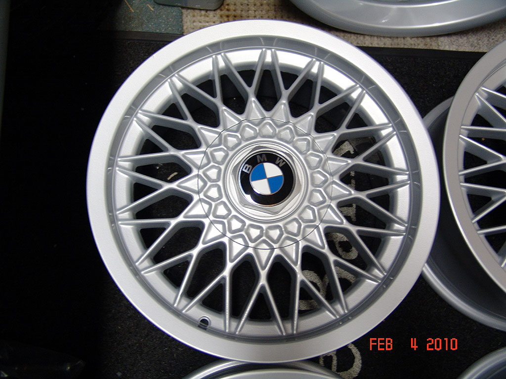 E28 M5 OEM BBS Wheels