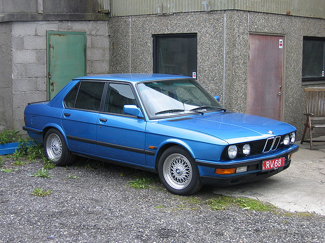 1988 Bmw 535i For Sale BMW BBS RS-061 & RS-022 3 Piece Forged Wheels, Polished Lips and ...