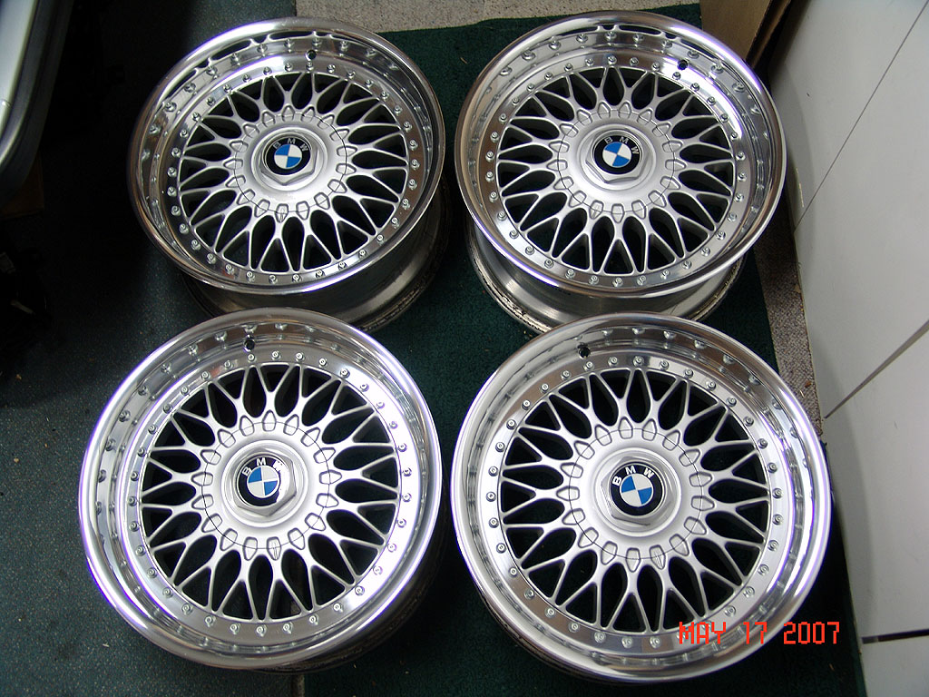 Bbs Rs Silver Style 5 Wheels