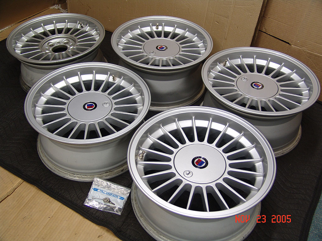FS) Alpina Wheels 16x7, 16x8